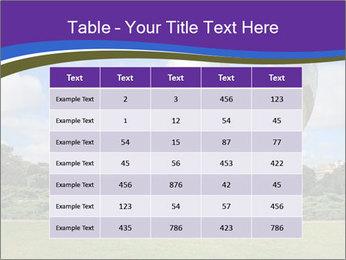 Floralis Generica PowerPoint Template - Slide 55