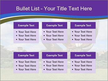 Floralis Generica PowerPoint Template - Slide 56
