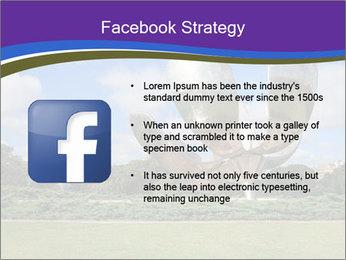 Floralis Generica PowerPoint Template - Slide 6