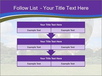 Floralis Generica PowerPoint Template - Slide 60