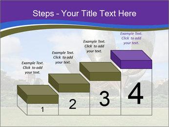 Floralis Generica PowerPoint Template - Slide 64
