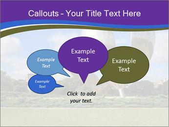 Floralis Generica PowerPoint Template - Slide 73