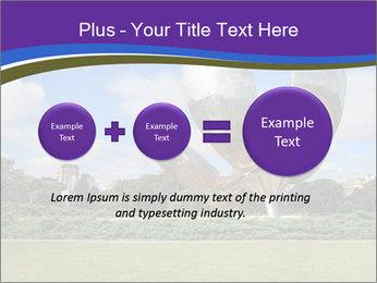 Floralis Generica PowerPoint Template - Slide 75