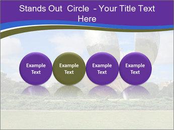 Floralis Generica PowerPoint Template - Slide 76