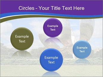 Floralis Generica PowerPoint Template - Slide 77
