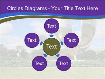 Floralis Generica PowerPoint Template - Slide 78