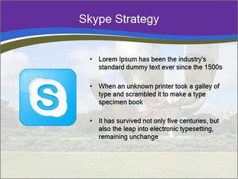 Floralis Generica PowerPoint Template - Slide 8