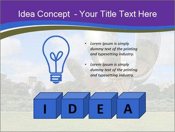 Floralis Generica PowerPoint Template - Slide 80