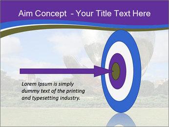 Floralis Generica PowerPoint Template - Slide 83