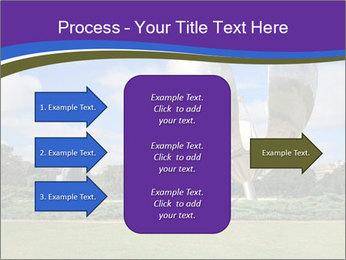 Floralis Generica PowerPoint Template - Slide 85