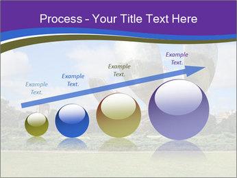 Floralis Generica PowerPoint Template - Slide 87