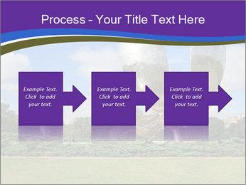 Floralis Generica PowerPoint Template - Slide 88