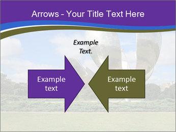 Floralis Generica PowerPoint Template - Slide 90