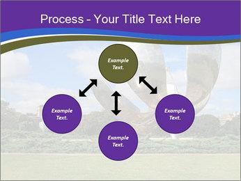 Floralis Generica PowerPoint Template - Slide 91