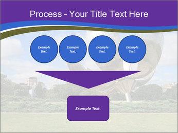 Floralis Generica PowerPoint Template - Slide 93