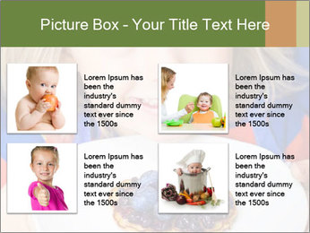 Adorable child PowerPoint Template - Slide 14