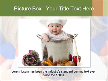 Adorable child PowerPoint Template - Slide 15
