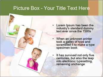 Adorable child PowerPoint Template - Slide 17