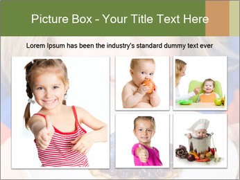 Adorable child PowerPoint Template - Slide 19