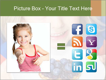 Adorable child PowerPoint Template - Slide 21