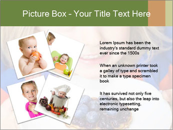 Adorable child PowerPoint Template - Slide 23