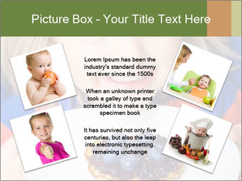 Adorable child PowerPoint Template - Slide 24