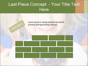 Adorable child PowerPoint Template - Slide 46