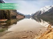 Alaska in early spring PowerPoint Template