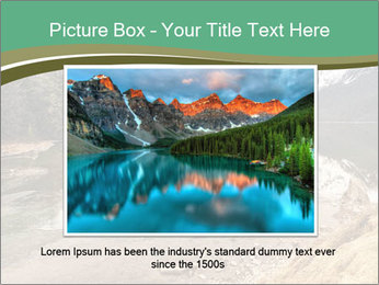 Alaska in early spring PowerPoint Templates - Slide 15