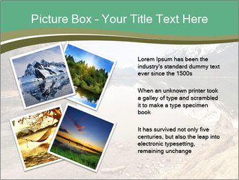Alaska in early spring PowerPoint Templates - Slide 23