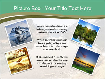 Alaska in early spring PowerPoint Templates - Slide 24