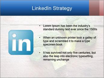 Fresh broccoli PowerPoint Template - Slide 12