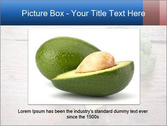 Fresh broccoli PowerPoint Template - Slide 15