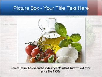 Fresh broccoli PowerPoint Template - Slide 16