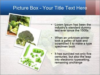 Fresh broccoli PowerPoint Template - Slide 17