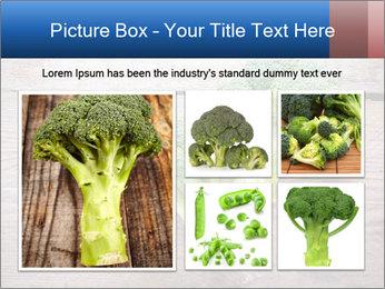 Fresh broccoli PowerPoint Template - Slide 19