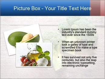 Fresh broccoli PowerPoint Template - Slide 20
