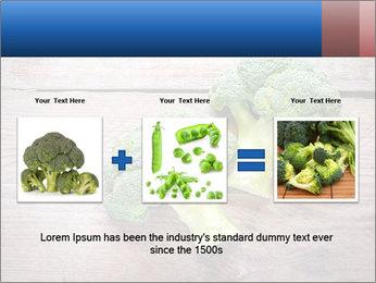 Fresh broccoli PowerPoint Template - Slide 22