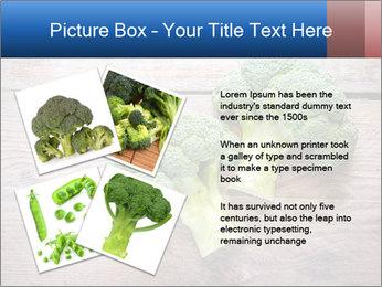 Fresh broccoli PowerPoint Template - Slide 23