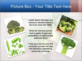 Fresh broccoli PowerPoint Template - Slide 24