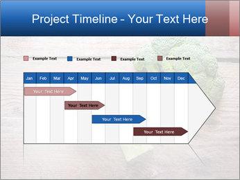 Fresh broccoli PowerPoint Template - Slide 25