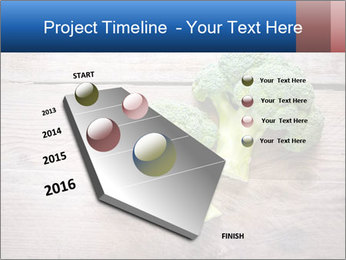 Fresh broccoli PowerPoint Template - Slide 26