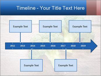 Fresh broccoli PowerPoint Template - Slide 28