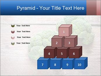 Fresh broccoli PowerPoint Template - Slide 31