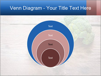Fresh broccoli PowerPoint Template - Slide 34