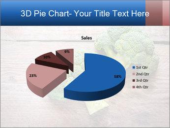 Fresh broccoli PowerPoint Template - Slide 35