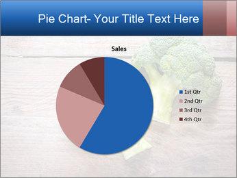Fresh broccoli PowerPoint Template - Slide 36