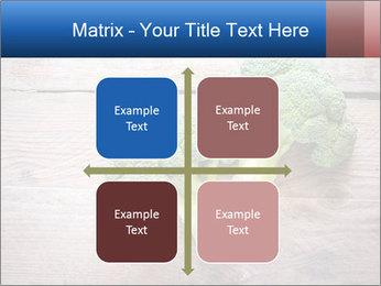Fresh broccoli PowerPoint Template - Slide 37