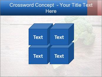 Fresh broccoli PowerPoint Template - Slide 39