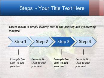 Fresh broccoli PowerPoint Template - Slide 4